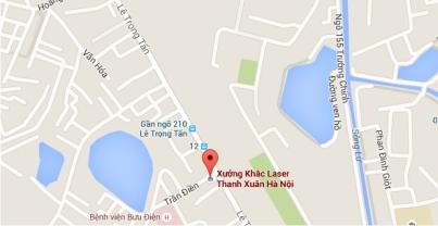 Cơ Sở cắt khắc laser tại quận Thanh Xuân HN