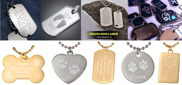 Sản Xuất Thẻ Pettag thú cưng, Thẻ tên vòng đeo cổ chống lạc chó mèo tại Tân Phú, Gò Vấp, Thanh Xuân, Cầu Giấy