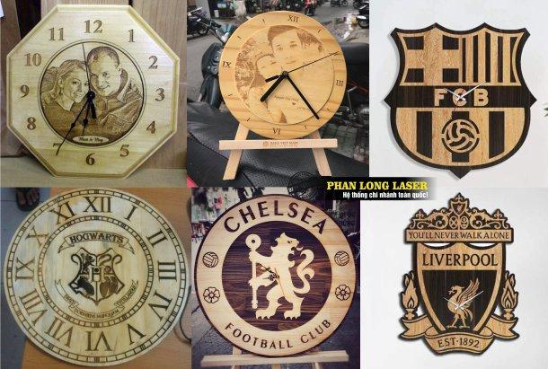 Làm đồng hồ gỗ ở đâu? Làm đồng hồ mica theo yêu cầu ở đâu lấy ngay giá rẻ?