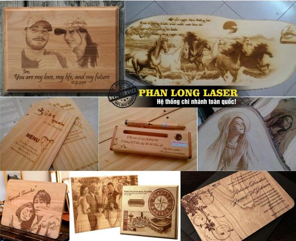 Khắc hình ảnh, khắc logo, khắc chữ, khắc tên, khắc thư pháp lên gỗ bằng laser tại Đà Nẵng