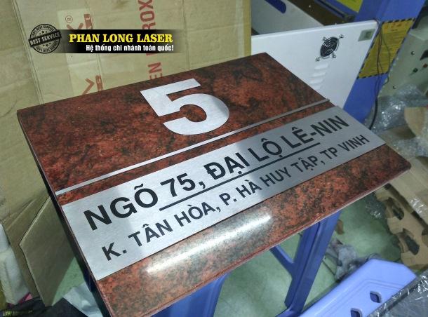 Công ty nhận làm biển số nhà bằng Đá tại Tp Hồ Chí Minh, Sài Gòn, Đà Nẵng, Hà Nội và Cần Thơ