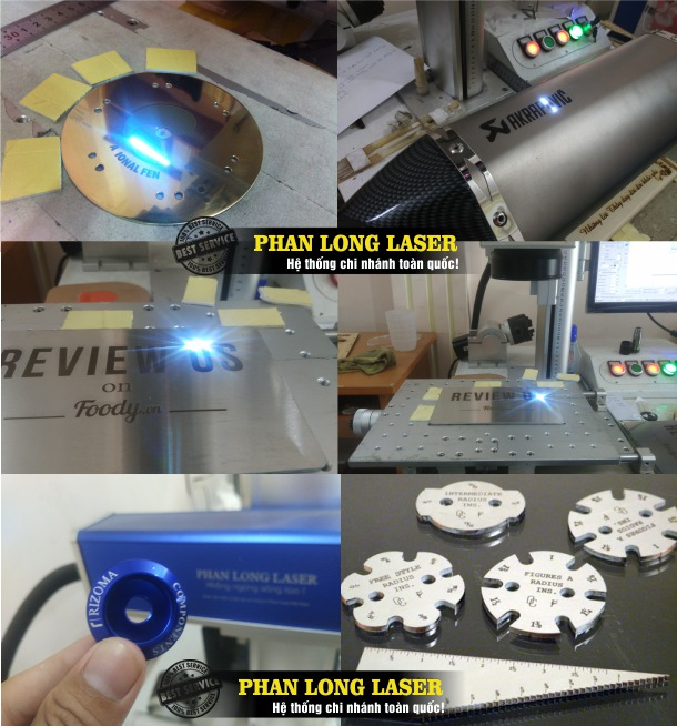Xưởng gia công cắt khắc laser theo yêu cầu lên bề mặt kim loại giá rẻ lấy liền