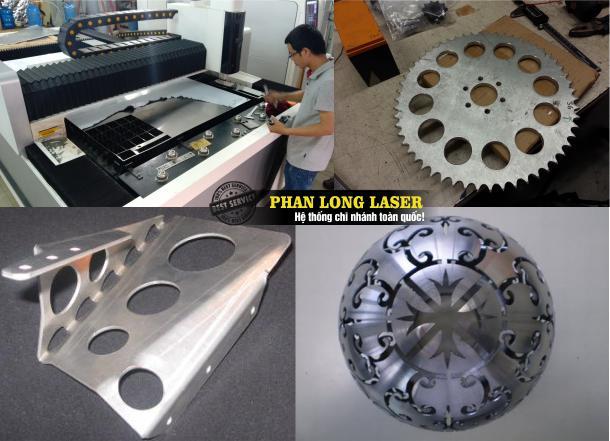 Địa chỉ cơ sở chuyên nhận cắt kim loại inox đồng nhôm sắt thép bằng máy laser giá rẻ