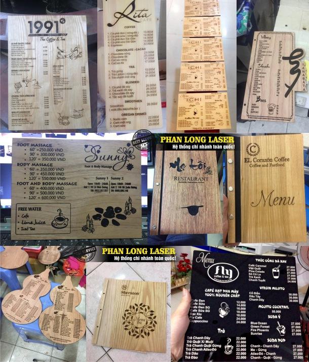 Địa chỉ cơ sở chuyên nhận làm menu theo yêu cầu tại Tphcm Sài Gòn, Hà Nội, Đà Nẵng và Cần Thơ