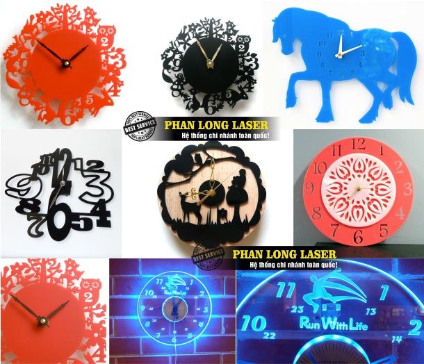 Gia công sản xuất đồng hồ mica khắc laser, cắt laser tạo hình theo yêu cầu tại Tp Hồ Chí Minh, Sài Gòn, Đà Nẵng, Hà Nội và Cần Thơ