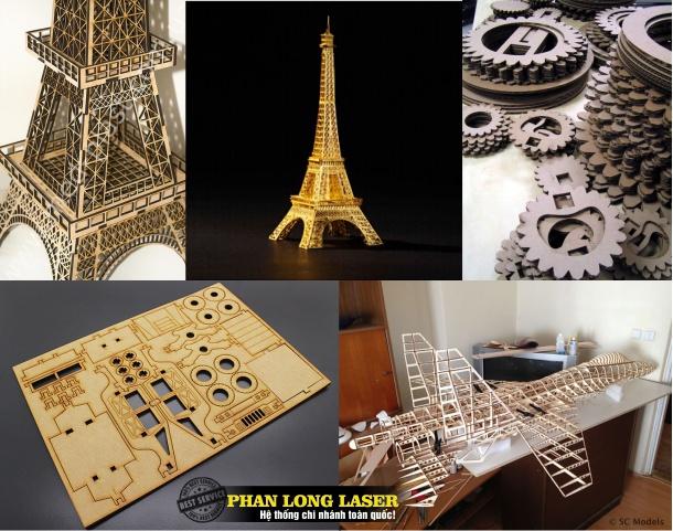 Cắt mô hình gỗ làm sa bàn, làm mô hình kiến trúc, mô hình xe tăng, máy bay, mô hình tòa tháp, mô hình tòa nhà