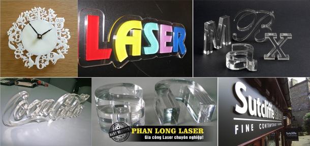 Gia công Mica bằng Laser tại Cầu Giấy, Thanh Xuân, Hà Nội