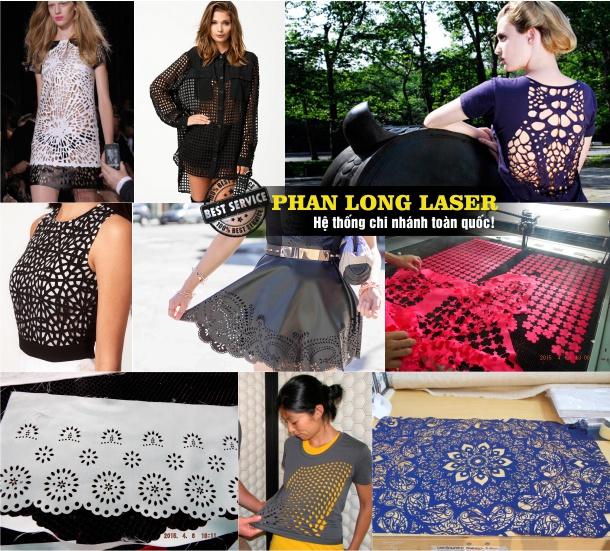 Cắt vải thêu con giống, cắt hoa văn trên vải bằng laser tại Quảng Nam Đà Nẵng