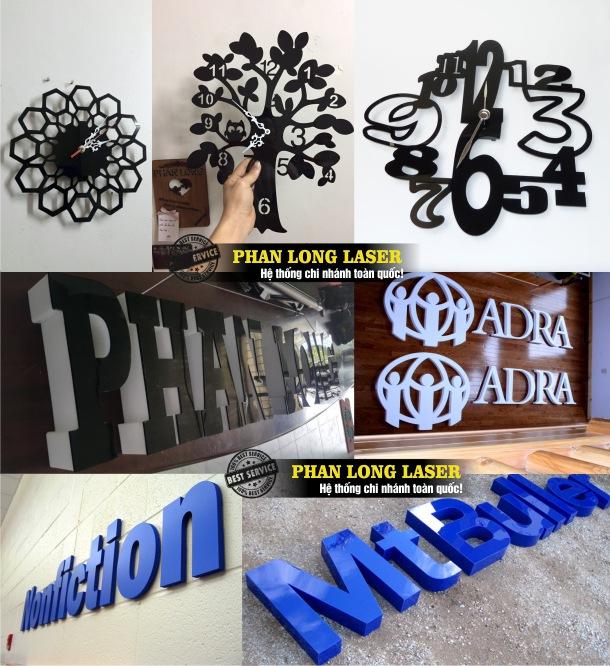 Cắt mica bằng máy laser tại Tp Hồ Chí Minh, Sài Gòn, Đà Nẵng, Hà Nội và Cần Thơ