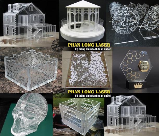 Địa chỉ cắt mica làm cúp và kỷ niệm chương, làm sa bàn, làm mô hình tòa tháp, làm mô hình kiến trúc