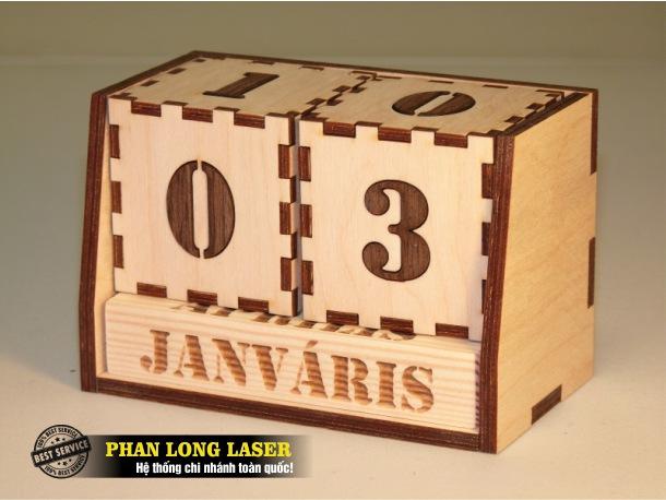 Xưởng gia công laser theo yêu cầu lên lịch gỗ giá rẻ