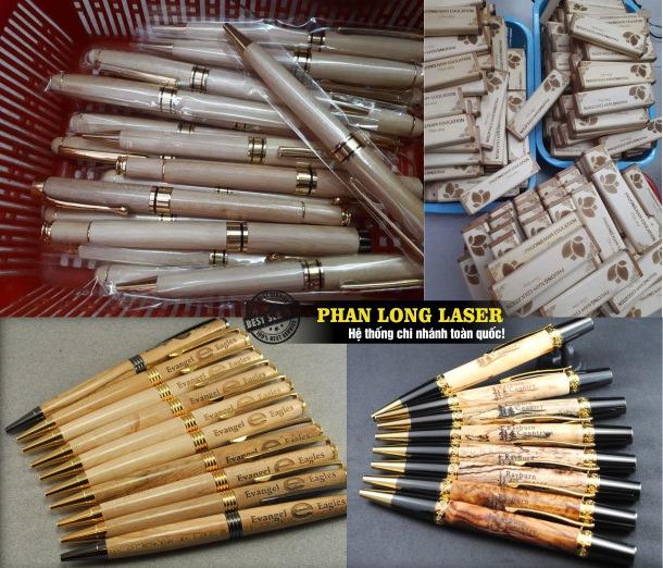 Địa chỉ gia công sản xuất các sản phẩm bút gỗ dùng làm quà tặng tri ân, quà tặng khuyến mại