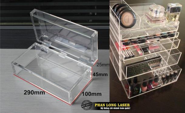 Hộp nhựa Mica Acrylic và tủ nhựa mica Acrylic để bảo vệ bảo quản sản phẩm giá trị