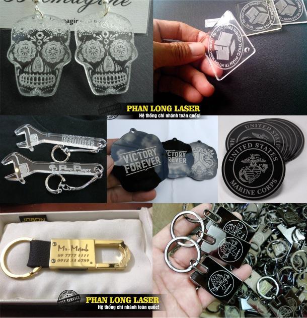 Địa chỉ sản xuất và làm các sản phẩm móc khóa mica và móc khóa inox tại Sài Gòn