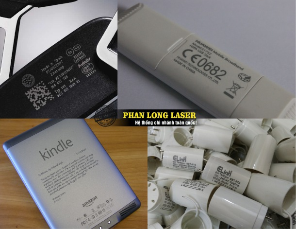In khắc Laser giá rẻ thông số kỹ thuật và mã vạch lên đồ điện tử theo yêu cầu giá rẻ