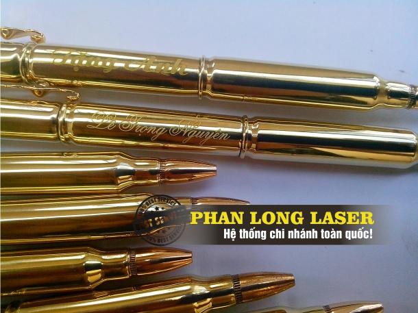 Khắc chữ, khắc tên, khắc logo, khắc hình lên bút, lên viết tại TPHCM, Đà Nẵng, Hà Nội