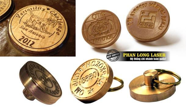Địa chỉ nhận khắc laser theo yêu cầu lên kim loại đồng để làm khuôn mẫu, làm con dấu bằng đồng