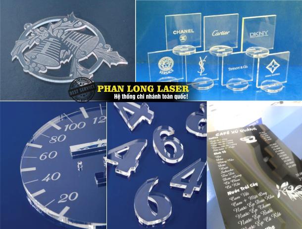 Khắc laser lên mica, nhựa cứng tại Quảng Nam Đà Nẵng