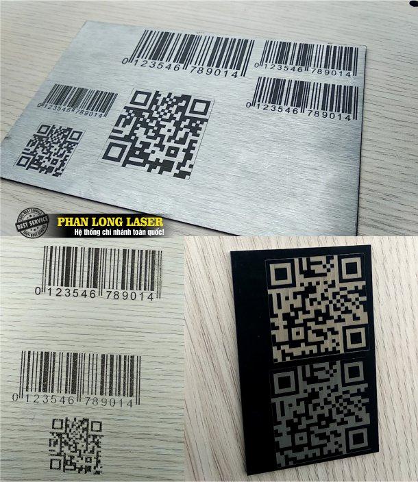 Địa chỉ chuyên nhận khắc mã vạch, khắc tem nhãn mác theo yêu cầu lên mọi chất liệu
