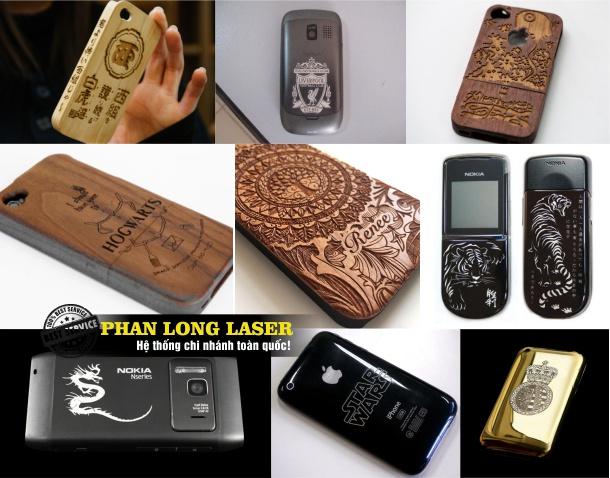 Địa chỉ khắc lên nắp lưng điện thoại, khắc viền điện thoại bằng laser tại Quảng Nam Đà Nẵng