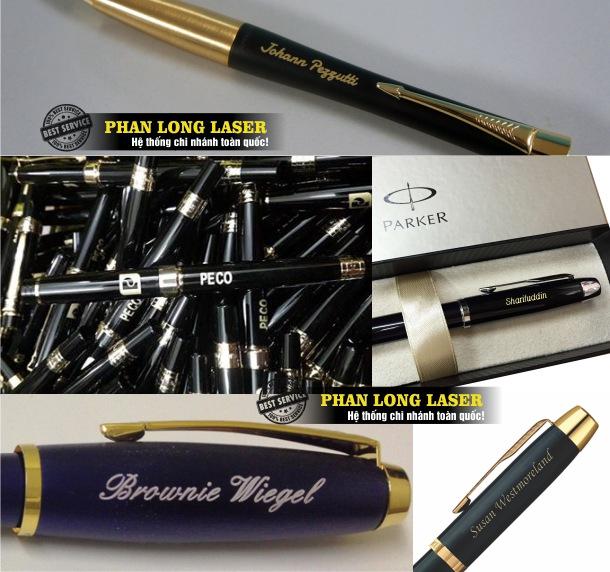 Công ty chuyên nhận khắc laser theo yêu cầu lên các sản phẩm bút viết tại Tp Hồ Chí Minh, Sài Gòn, Đà Nẵng, Hà Nội và Cần Thơ