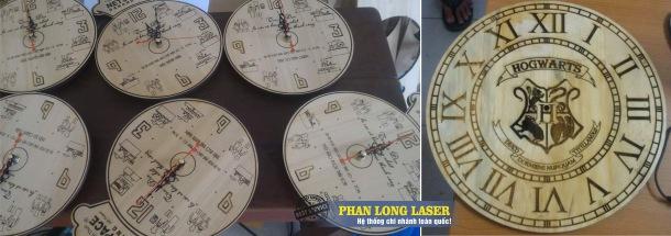 Địa chỉ khắc chữ khắc tên lên đồng hồ bằng máy laser