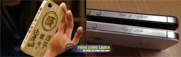 Địa chỉ cung cấp dịch vụ khắc laser lên Iphone giá rẻ