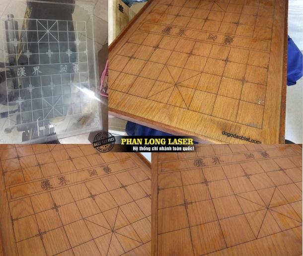 Địa chỉ khắc laser theo yêu cầu lên bàn cờ vua, bàn cờ tướng, khắc bàn cờ mica, khắc bàn cờ gỗ