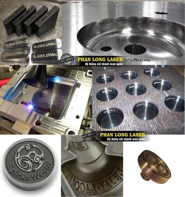 Địa chỉ nhận khắc laser theo yêu cầu lên khuôn mẫu kim loại lấy liền giá rẻ