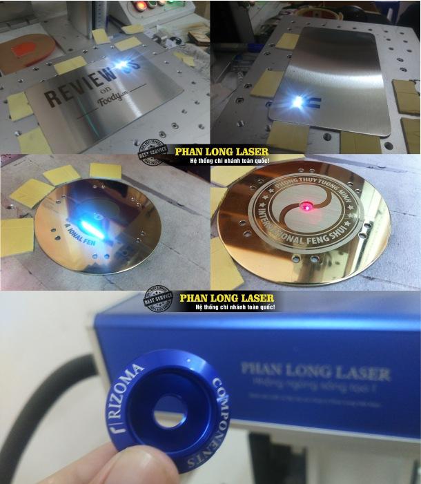 Địa chỉ nhận khắc laser theo yêu cầu lên kim loại inox ở Hà Nội giá rẻ