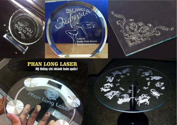 Khắc laser theo yêu cầu lên thủy tinh pha lê tại Tp Hồ Chí Minh, Sài Gòn, Đà Nẵng, Hà Nội và Cần Thơ