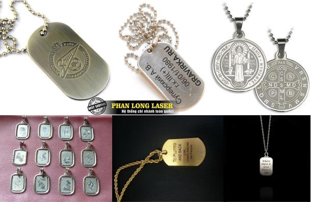 Địa chỉ Khắc Laser lên mặt dây chuyền vàng bạc tại Sài Gòn và Hà Nội