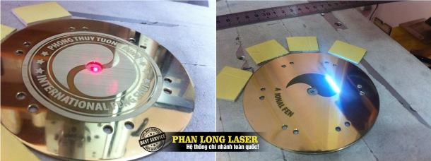 Địa chỉ Khắc logo lên kim loại bằng tia laser tại Sài Gòn