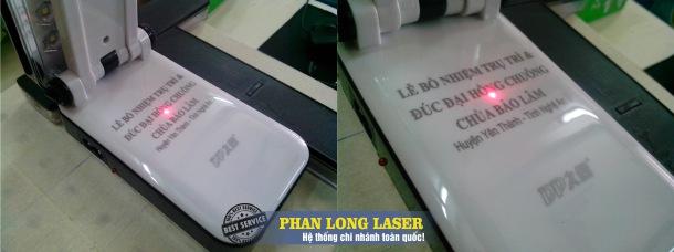 Máy laser khắc nhựa đảm bảo chất lượng cao hơn so với các dòng máy khác