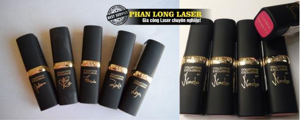 Công ty khắc tên lên thỏi son bằng laser ở đâu tại Hà Nội, HCM, Đà Nẵng, Cần Thơ