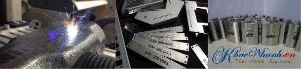 Công ty Khắc laser lên kim loại ở Quận Bình Thạnh Sài Gòn