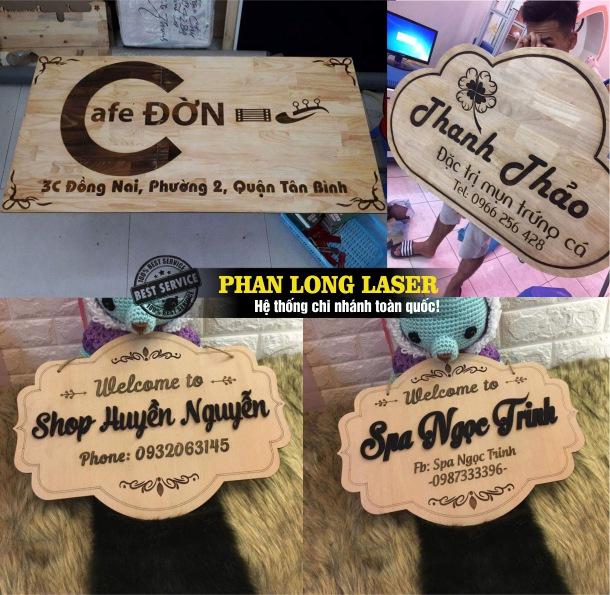 Địa chỉ nhận thiết kế và làm biển quảng cáo, biển hiệu quảng cáo, biển bảng quảng cáo bằng gỗ tại Tp Hồ Chí Minh, Sài Gòn, Đà Nẵng, Hà Nội và Cần Thơ