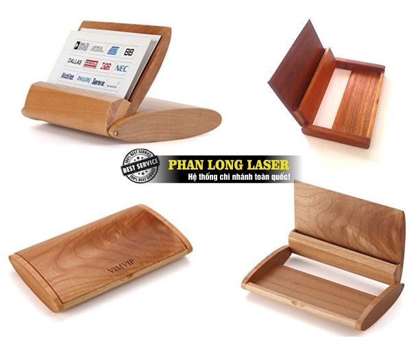 Địa chỉ gia công sản xuất hộp đựng danh thiếp bằng gỗ lấy liền, lấy ngay giá rẻ