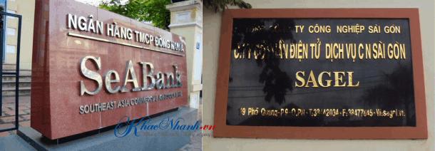 Địa chỉ làm biển số nhà ở Gò Vấp Sài Gòn