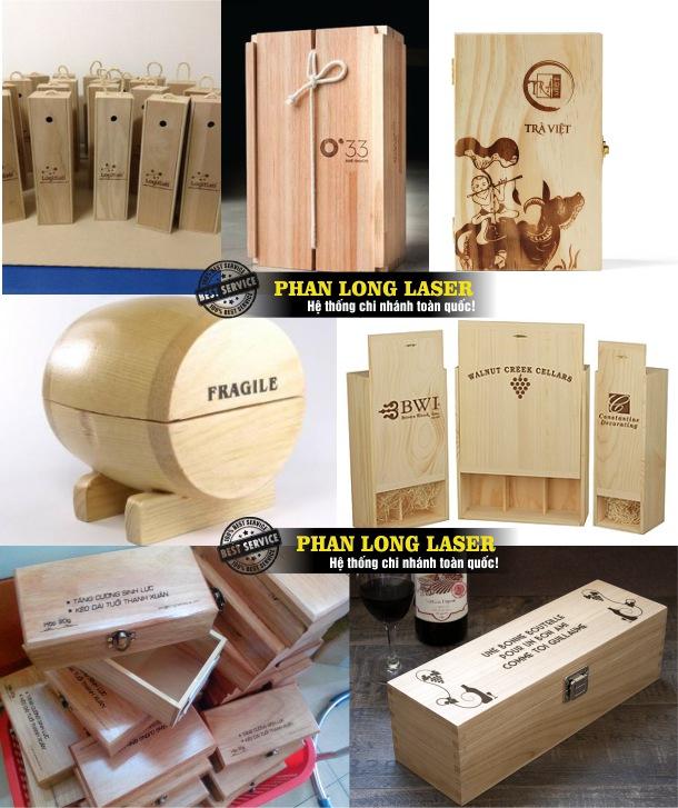 Khắc laser lên hộp gỗ theo yêu cầu tại Tp Hồ Chí Minh, Sài Gòn, Đà Nẵng, Hà Nội và Cần Thơ