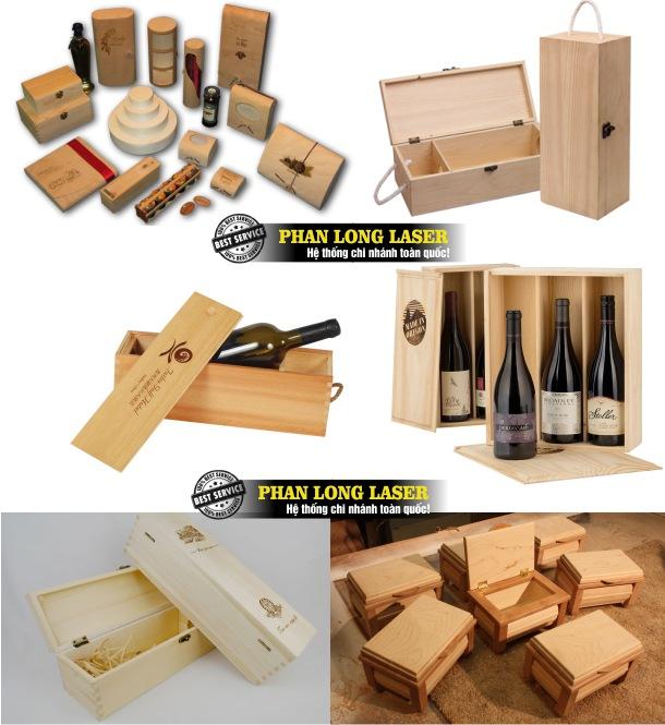 Địa chỉ gia công và sản xuất làm hộp gỗ, hộp rượu, hộp gỗ đựng nữ trang theo yêu cầu giá rẻ
