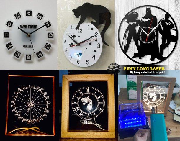 Xưởng gia công sản xuất làm đồng hồ mica, đồng hồ gỗ giá rẻ tại Tp Hồ Chí Minh, Sài Gòn, Hà Nội, Đà Nẵng và Cần Thơ
