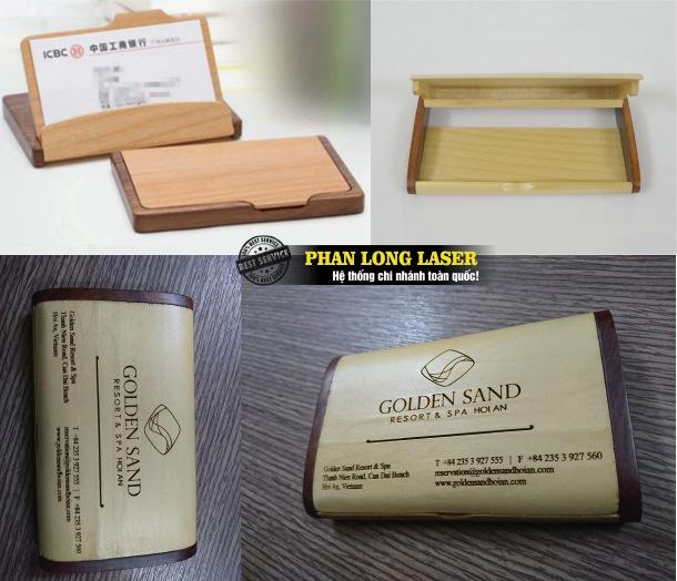 Bán buôn, bán sỉ, bán lẻ hộp đựng danh thiếp bằng gỗ giá rẻ