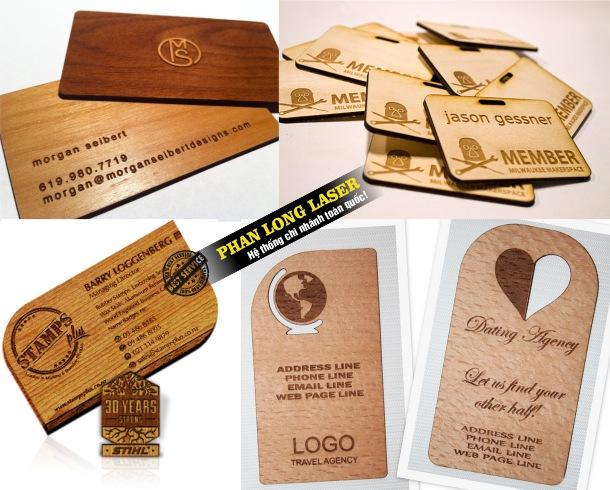 Xưởng sản xuất name card bằng gỗ giá rẻ làm nhanh lấy liền lấy ngay