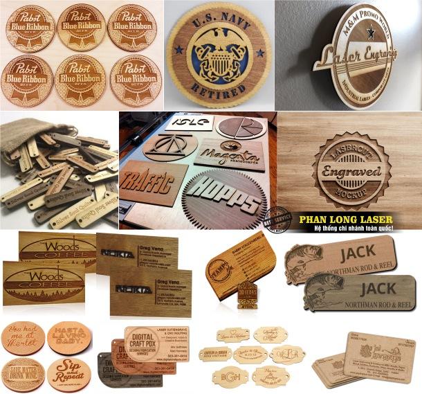 Địa chỉ trực tiếp nơi sản xuất và làm tem nhãn mác bằng gỗ theo yêu cầu giá rẻ
