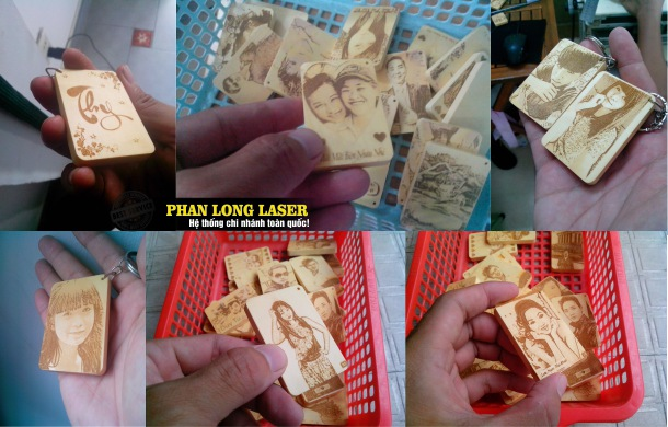 Địa chỉ Làm Móc khóa gỗ khắc hình laser ở Tp Hồ Chí Minh