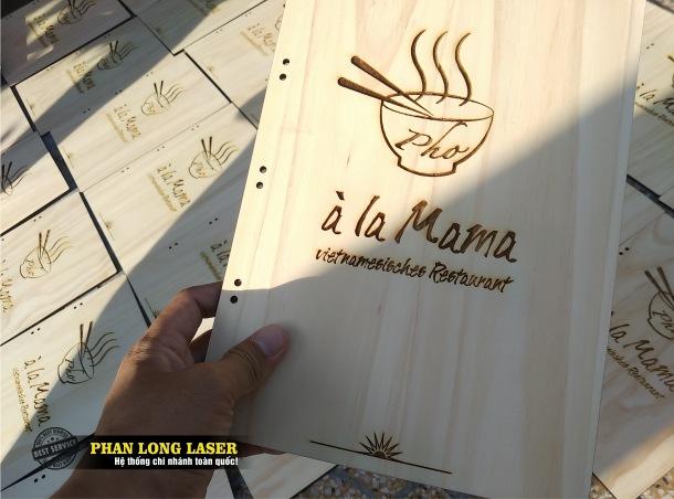 Địa chỉ nhận làm menu gỗ, menu mica, menu kim loại, menu da theo yêu cầu lấy ngay lấy liền giá rẻ