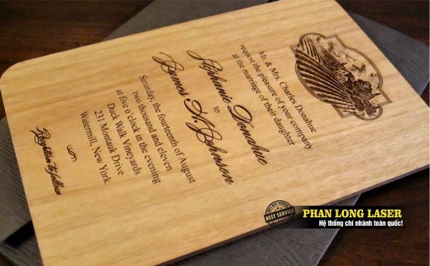 Địa chỉ nhận làm thiệp cưới, thiết kế thiệp cưới bằng gỗ tại Tp Hồ Chí Minh, Sài Gòn, Đà Nẵng, Hà Nội và Cần Thơ