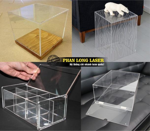 Công ty sản xuất làm hộp mica acrylic giá rẻ tại Tphcm Sài Gòn, Hà Nội, Đà Nẵng và Cần Thơ