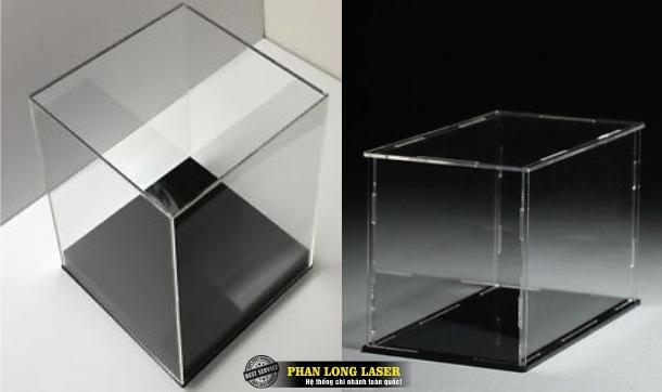 Xưởng sản xuất làm hộp nhựa mica acrylic theo yêu cầu dùng để trưng bày sản phẩm giá rẻ